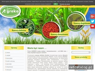 Zrzut ekranu strony agreko.info.pl