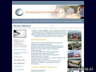Zrzut ekranu strony www.iwnise.pl