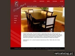 Zrzut ekranu strony www.echoport.com.pl