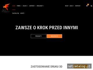 Zrzut ekranu strony 3dphoenix.pl