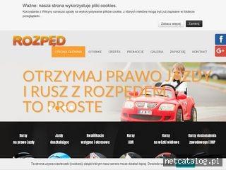 Zrzut ekranu strony cskrozped.pl