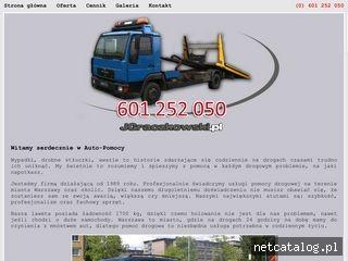 Zrzut ekranu strony jgraczkowski.pl