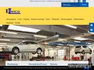 Zrzut ekranu strony www.elwico.com.pl