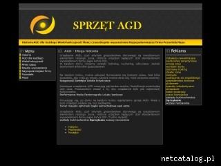 Zrzut ekranu strony agd.sprzet.biz
