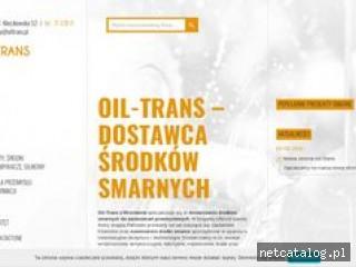 Zrzut ekranu strony www.oiltrans.pl