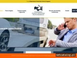 Zrzut ekranu strony pomocdrogowagdynia.eu