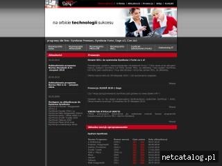 Zrzut ekranu strony www.penta.com.pl