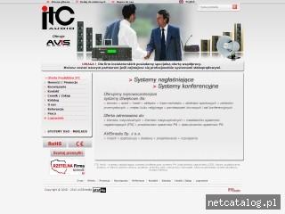 Zrzut ekranu strony www.itc-pa.pl