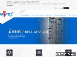 Zrzut ekranu strony www.mega-pol.pl