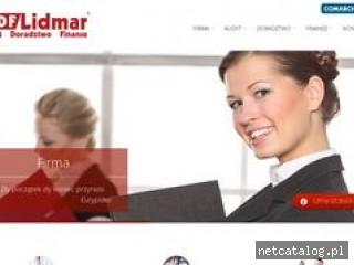 Zrzut ekranu strony www.lidmar.pl