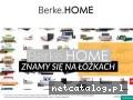 Sklep internetowy Berke.HOME - łóżka tapicerowane i z drewna