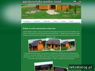 Zrzut ekranu strony www.domki-ostrzyckie.com