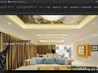 Zrzut ekranu strony dontworry.pl
