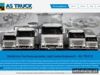 Zrzut ekranu strony as-truck.com.pl