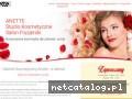 www.anette.com.pl salon kosmetyczny Katowice
