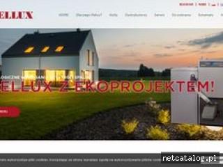 Zrzut ekranu strony pellux.pl