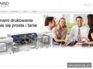 Zrzut ekranu strony www.arso.pl