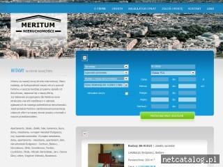 Zrzut ekranu strony www.wynajem.bydgoszcz.pl