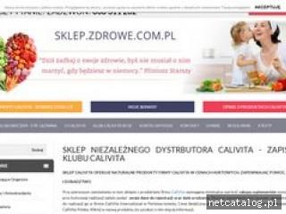 Zrzut ekranu strony www.sklep.zdrowe.com.pl
