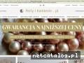www.perlyikamienie.pl - wisiorki z perłami