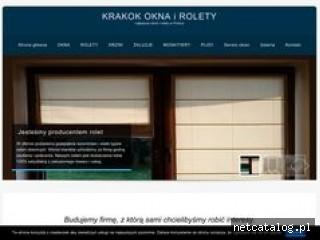Zrzut ekranu strony krakok.pl