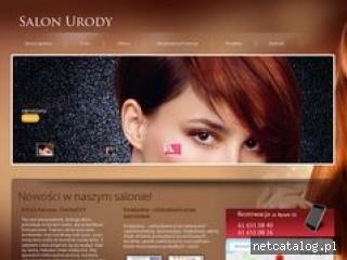 Zrzut ekranu strony www.salonurodymariusz.pl