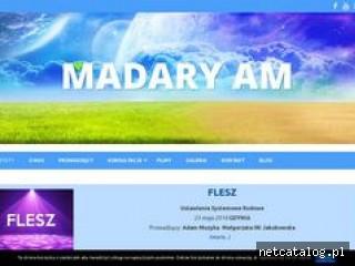 Zrzut ekranu strony madaryam.pl