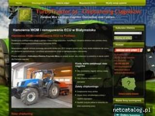 Zrzut ekranu strony turbotraktor.pl