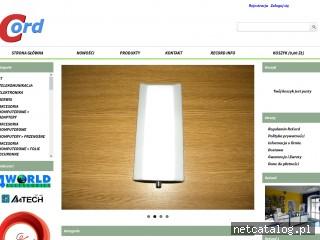 Zrzut ekranu strony recordsklep.com.pl
