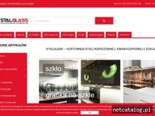 Zrzut ekranu strony stalglass.com