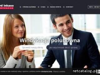 Zrzut ekranu strony akordinkaso.pl