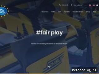 Zrzut ekranu strony fairplayplus.pl