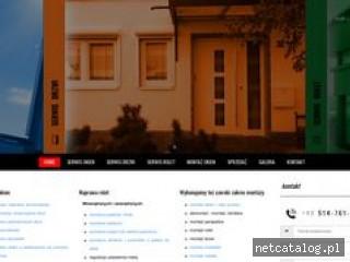 Zrzut ekranu strony www.serwis-okien-rolet-poznan.pl