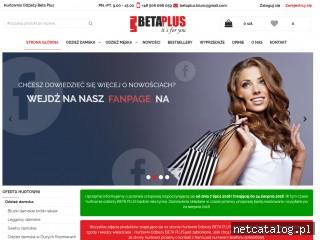 Zrzut ekranu strony www.hurt-odziez.pl