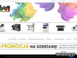 Zrzut ekranu strony potis.pl