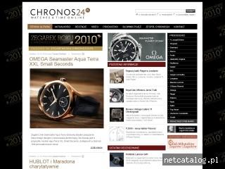 Zrzut ekranu strony chronos24.pl