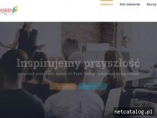 Zrzut ekranu strony szkolenia.oxford-centrum.pl
