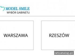 Zrzut ekranu strony modelsmile.pl