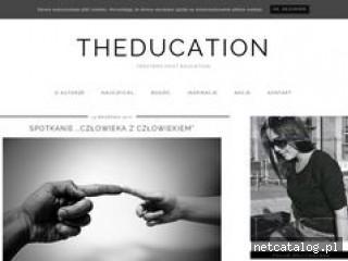 Zrzut ekranu strony theducation.pl