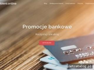 Zrzut ekranu strony www.zarobieni.online