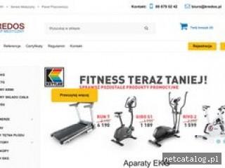Zrzut ekranu strony kredos.pl