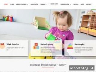 Zrzut ekranu strony sensoludki.pl