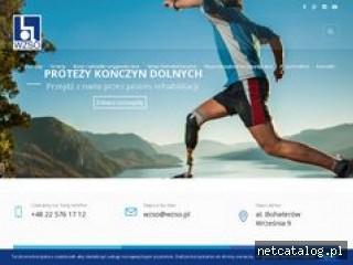 Zrzut ekranu strony www.wzso.pl