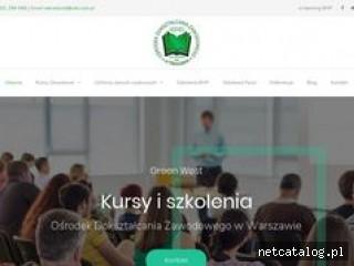 Zrzut ekranu strony odz.com.pl