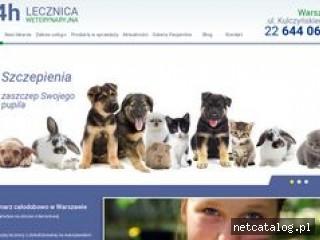 Zrzut ekranu strony www.lecznica-ursynow.waw.pl