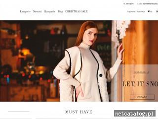 Zrzut ekranu strony www.tagless.pl