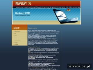 Zrzut ekranu strony cms.internetowe.ws