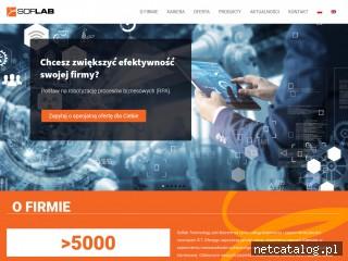 Zrzut ekranu strony soflab.pl