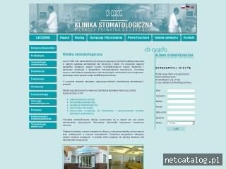 Zrzut ekranu strony www.dr-gajda.pl