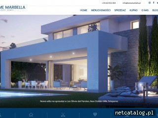 Zrzut ekranu strony homemarbella.pl
